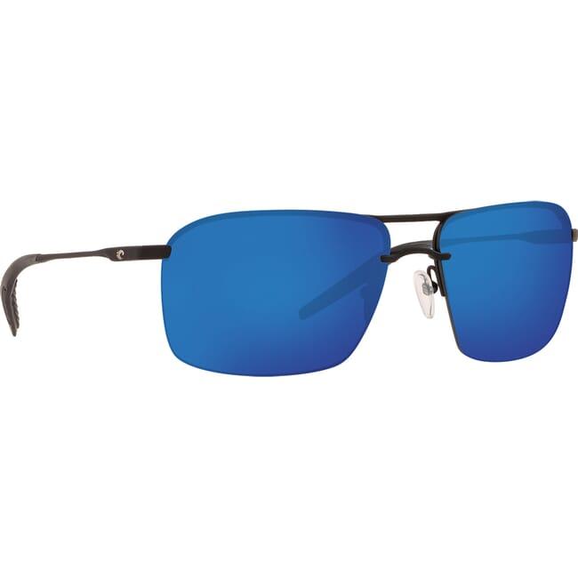 Costa Skimmer Matte Black + Black Sunglasses SKM-11