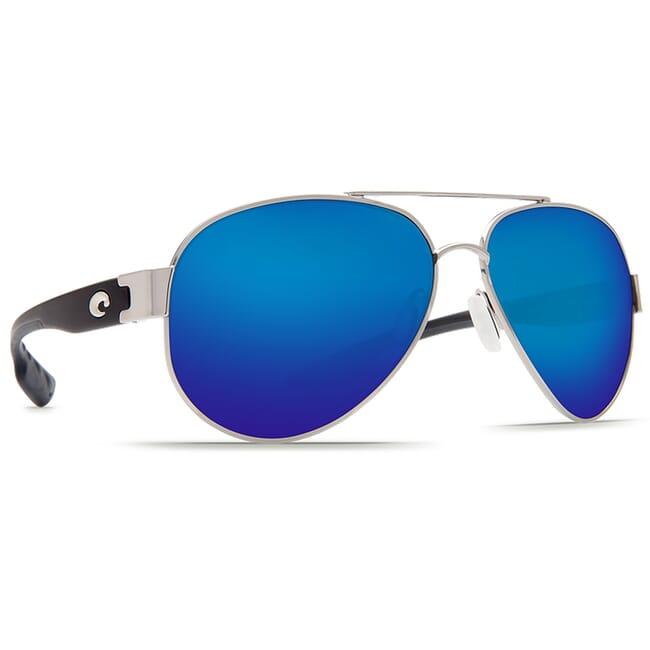 Costa South Point Palladium Frame Sunglasses w/ Blue Mirror 580P C-Mate 1.50 Lenses SO-21-OBMP-1.50