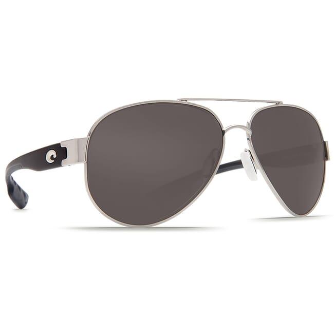 Costa South Point Palladium Frame Sunglasses w/ Gray 580P C-Mate 1.50 Lenses SO-21-OGP-1.50