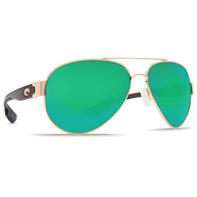 Costa South Point Tortoise Frame Sunglasses w/ Green Mirror C-Mate 1.50 Lenses SO-84-OGMP-1.50