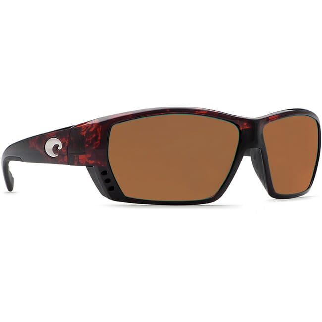 Costa Tuna Alley Tortoise Frame Sunglasses w/ Copper 580P C-Mate 1.50 Lenses TA-10-OCP-1.50