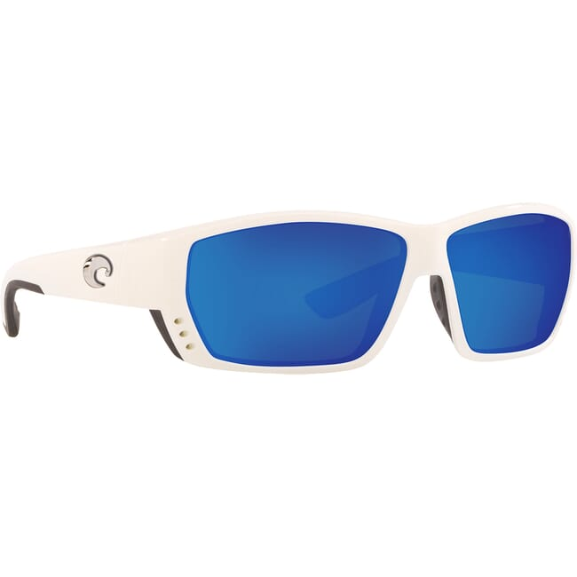 Costa Tuna Alley White Frame Sunglasses TA-25