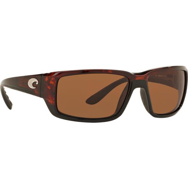 Costa Fantail Tortoise Global Fit Frame Sunglasses w/ Copper 580G Lenses TF-10GF-OCGLP