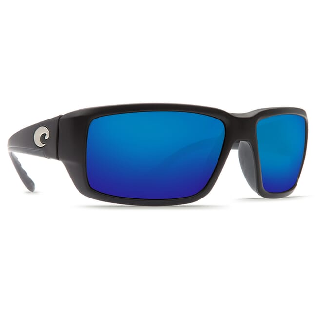 Costa Fantail Matte Black Frame Sunglasses TF-11
