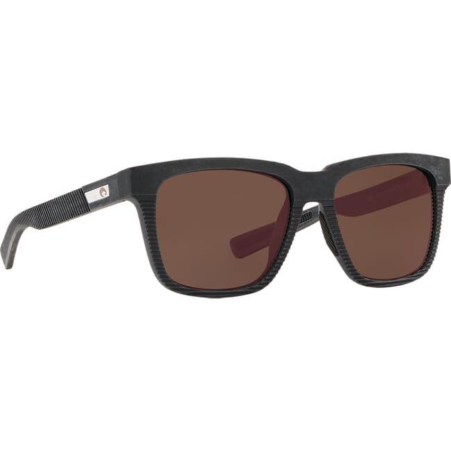 Costa Untangled Pescador Net Gray w/Black Rubber Sunglasses UC1-00G