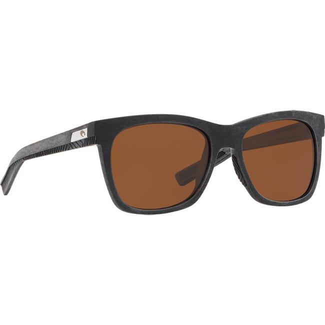 Costa Untangled Caldera Net Gray w/Black Rubber Sunglasses UC3-00G