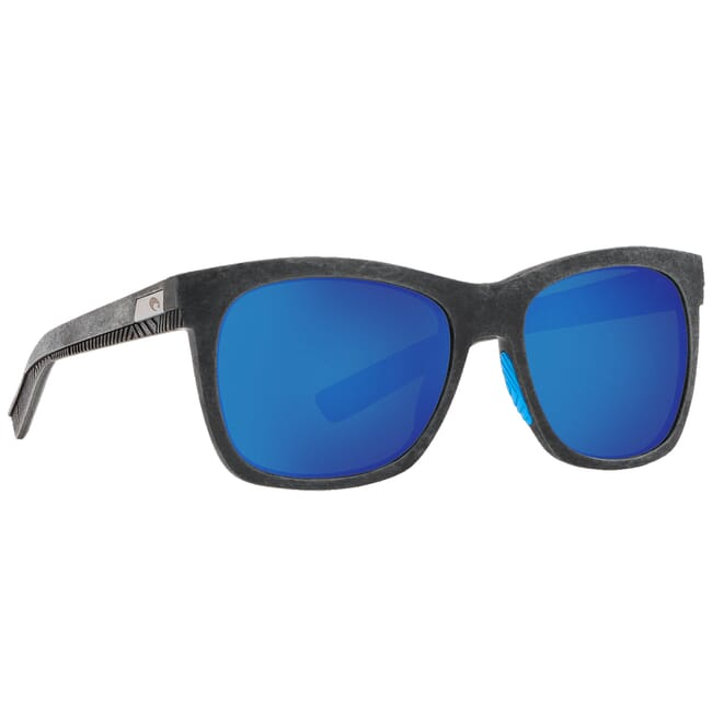 Costa Untangled Caldera Net Gray w/Blue Rubber Sunglasses UC3-00B