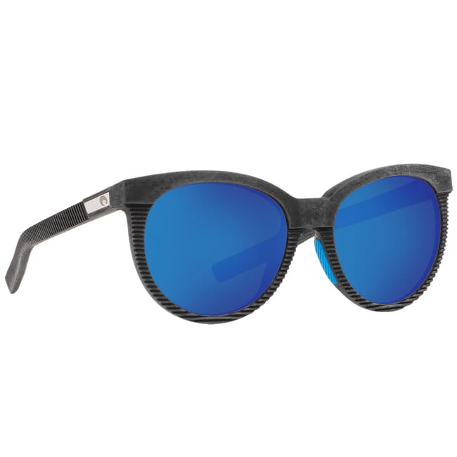 Costa Untangled Victoria Net Gray w/Blue Rubber Sunglasses UC4-00B