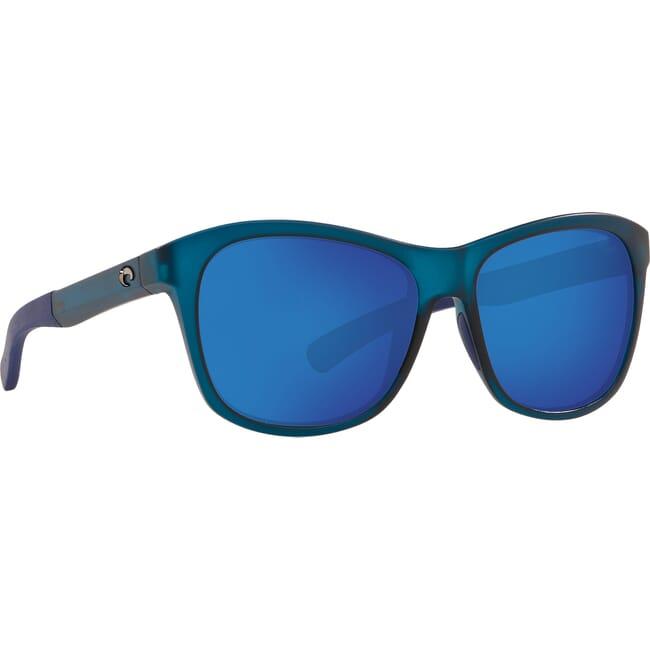 Costa Vela Ocearch Matte Deep Teal Crystal Sunglasses VLA-276OC