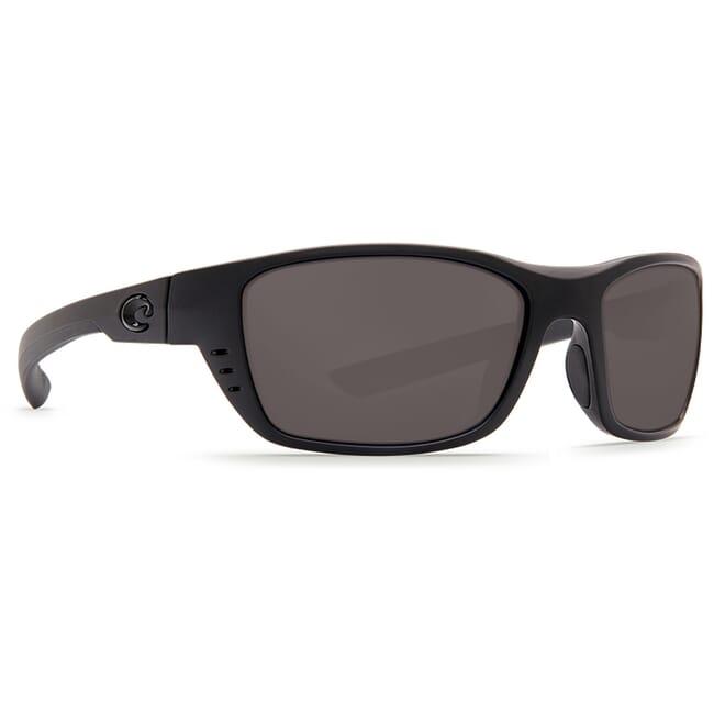 Costa Whitetip Blackout Frame Sunglasses w/ Gray 580P C-Mate 1.50 Lenses WTP-01-OGP-1.50