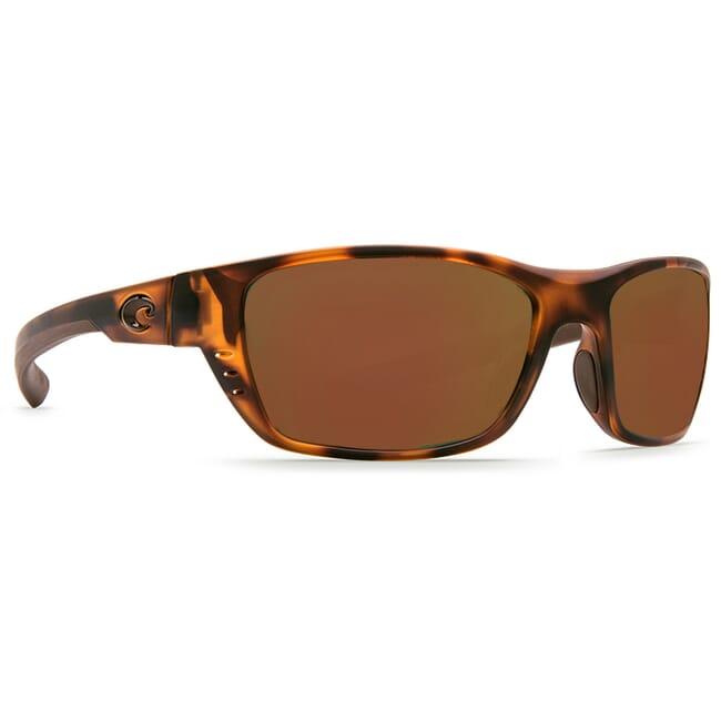 Costa Whitetip Matte Retro Tortoise Frame Sunglasses w/ Copper 580P C-Mate 1.50 Lenses WTP-66-OCP-1.50