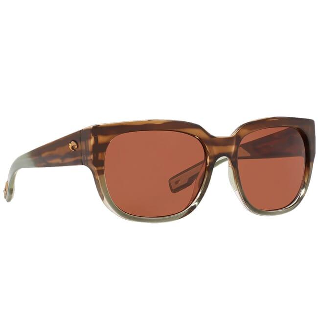 Costa Waterwoman II Shiny Ocean Jade Sunglasses WTR-292