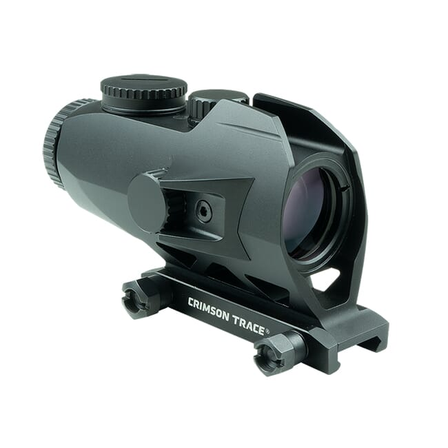 Crimson Trace CTS-1100 Illuminated 3.5x Battlesight with BDC Reticle for M1913 Picatinny Mount Rifles, Electronic Weapon Sight