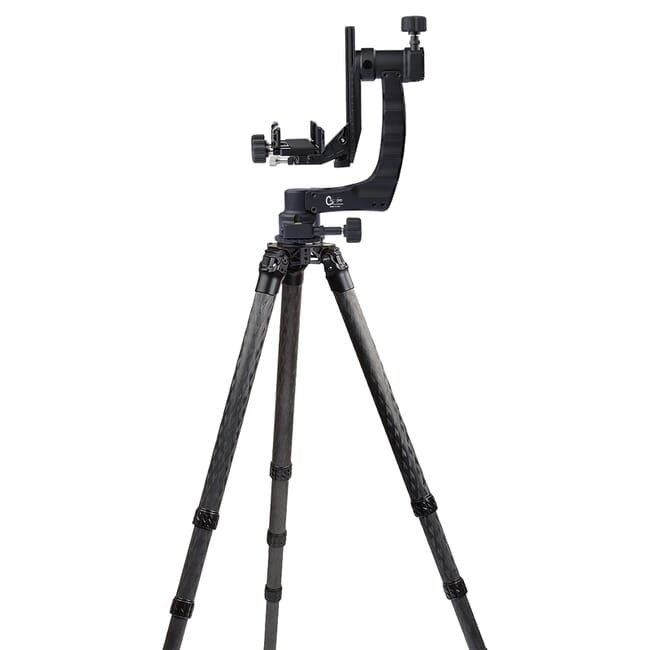 Crux Ordnance Adjustable Rifle Support/Rest and 42mm Tripod Kit w/Leveling Base, Scope Mount & Rifle Clamp PMG-K02