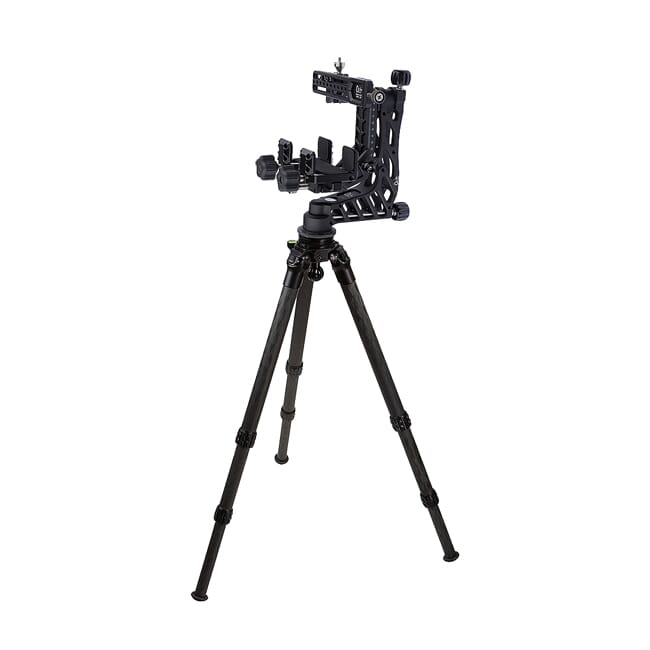 Crux Ordnance Adjustable Rifle Support/Rest and 34mm Tripod Kit w/Leveling Base, Scope Mount & Rifle Clamp CO-K04