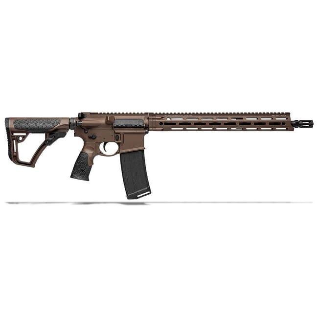 "Daniel Defense DDM4V7 5.56mm NATO 16"" 1:7 Mil Spec Brown Rifle 02-128-02338-047"