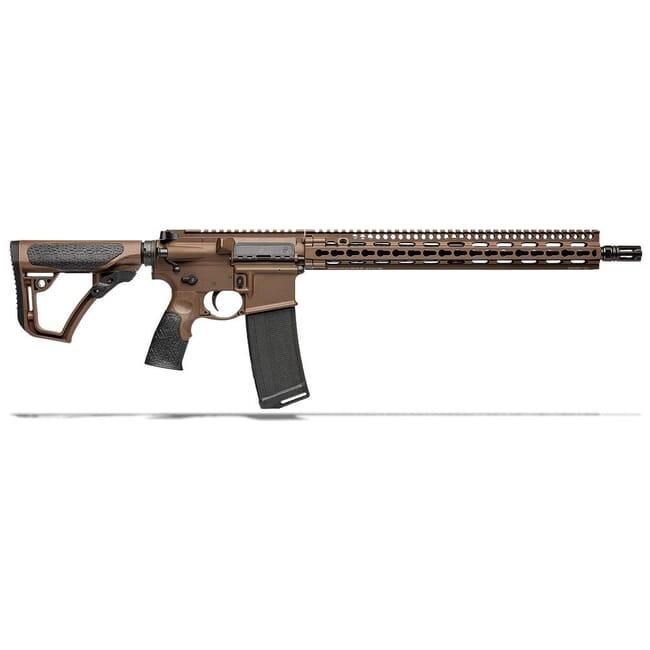 """Daniel Defense DDM4V11 .300 Blk 16"""" 1:8 Mil Spec Brown Rifle 02-151-16191-047"""