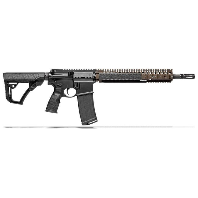 "Daniel Defense M4A1 Flat Dark Earth/Black 5.56mm NATO 14.5"" 1:7 Rifle 02-088-06027-011"