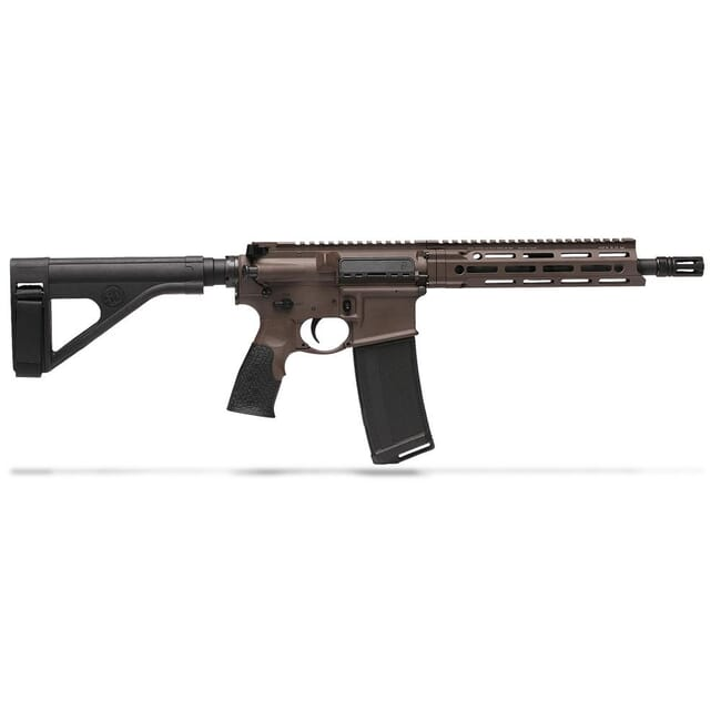 "Daniel Defense DDM4 V7 5.56 NATO 10.3"" 1:7 Mil Spec Brown Pistol 02-128-18052"