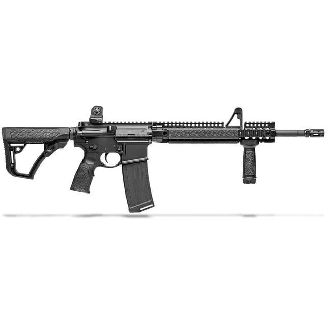 """Daniel Defense DDM4V1 5.56mm NATO 16"""" 1:7 Black Rifle 02-050-15027"""