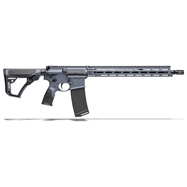 "Daniel Defense DDM4V7 5.56mm NATO 16"" 1:7 Tornado Grey Rifle 02-128-13042-047"