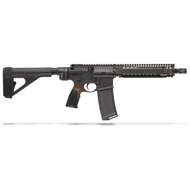 "Daniel Defense MK18 Pistol w/ Law Tactical Gen III Adaptor 5.56mm NATO 10.3"" 1:7 Bbl 02-088-22038"