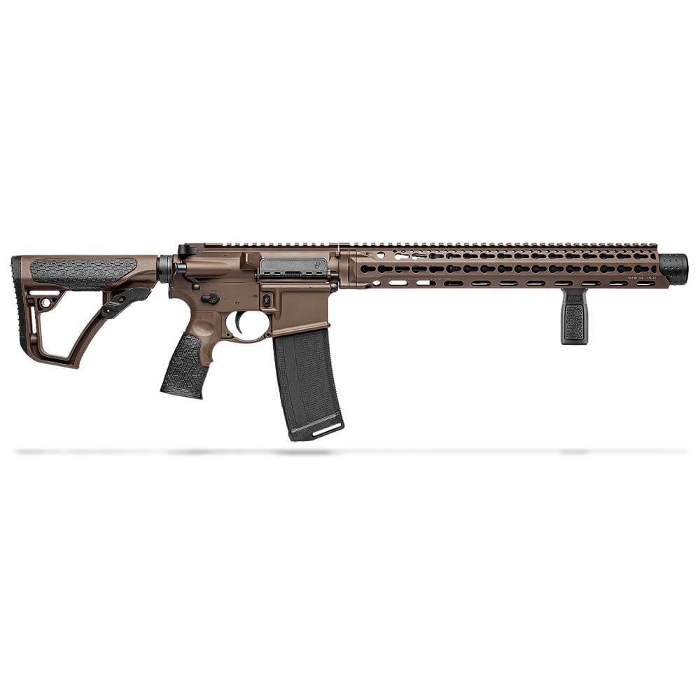"Daniel Defense DDM4ISR .300 Blk (Integrally Suppressed) 9"" 1:8 Mil Spec Brown Rifle 02-103-15139"