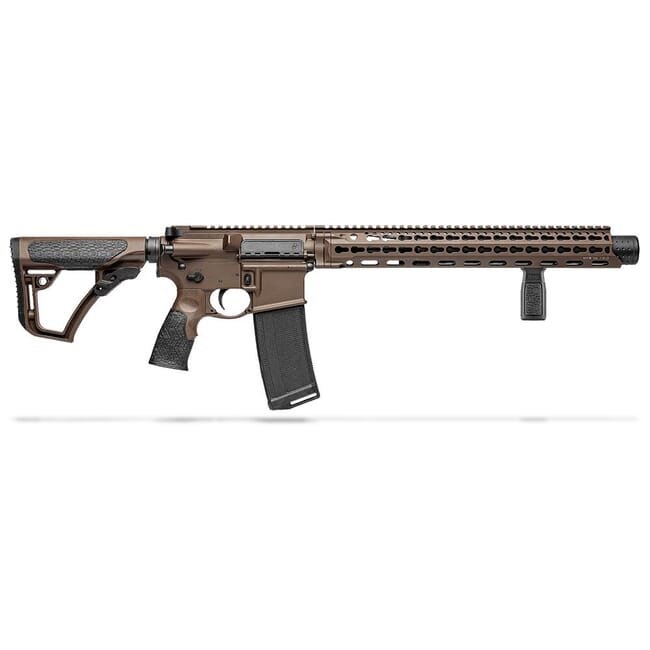 "Daniel Defense DDM4ISR .300 Blk (Integrally Suppressed) 9"" 1:8 Mil Spec Brown Rifle 02-103-15139"