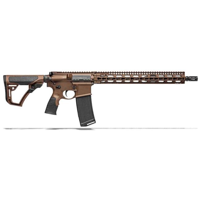 "Daniel Defense DDM4V11 5.56mm NATO 16"" 1:7 Mil Spec Brown Rifle 02-151-00257-047"