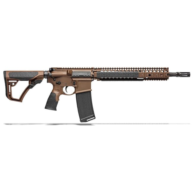 "Daniel Defense M4A1 5.56mm NATO 14.5"" 1:7 Mil Spec Brown Rifle 02-088-15126-011"