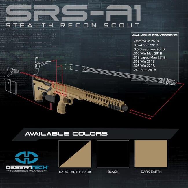 Desert Tech SRS Rifle Build Kit DTA_SRS_Rifle_Kit