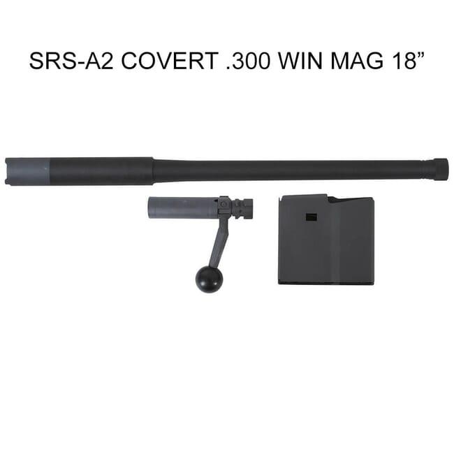"""Desert Tech SRS A2 Covert .300 Win Mag 18"""" RH (5 RD) Conversion Kit DT-SRSA2-CK-BBR"""