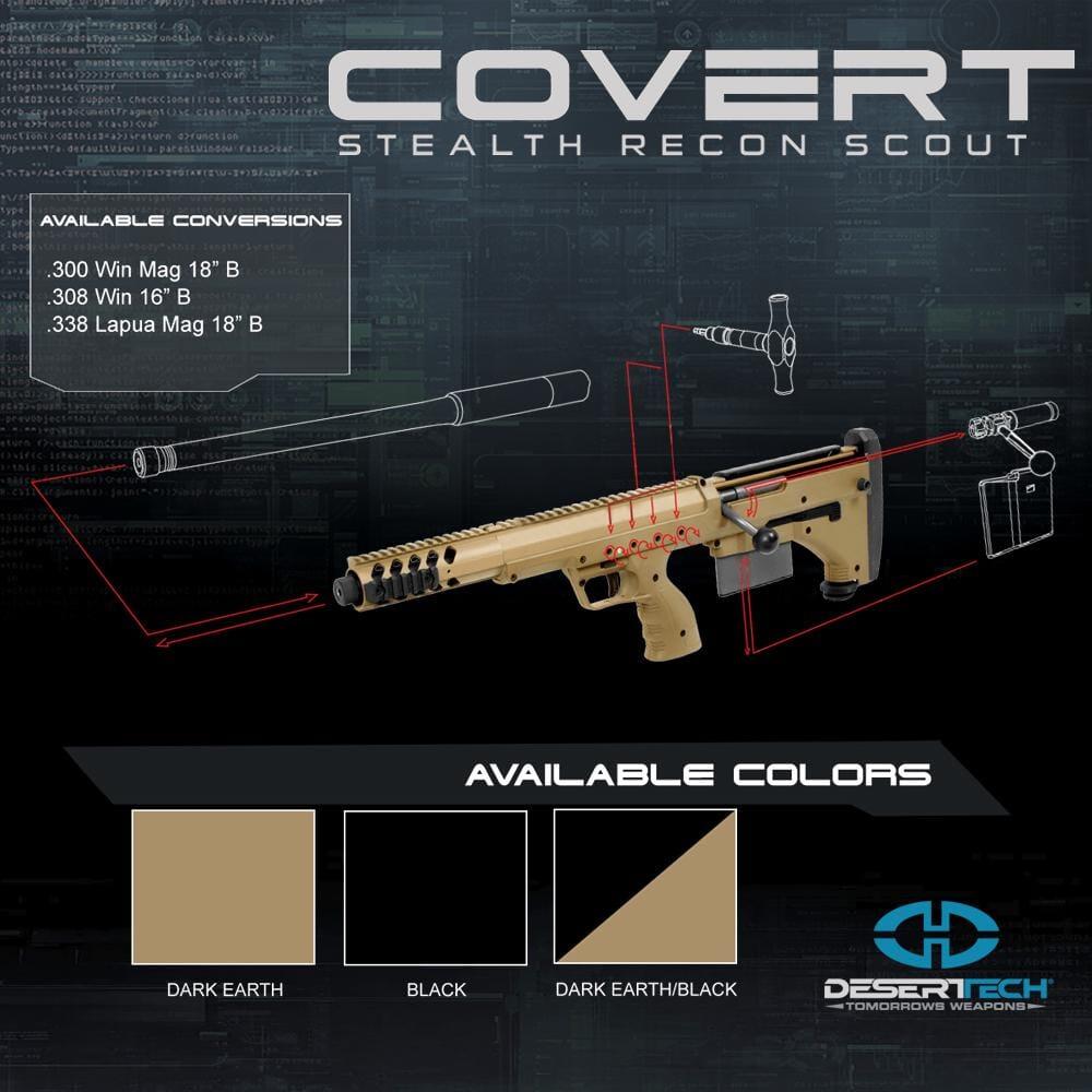 Desert Tech Covert LH Rifle Build Kit DTA_Covert_LH_Rifle_Kit