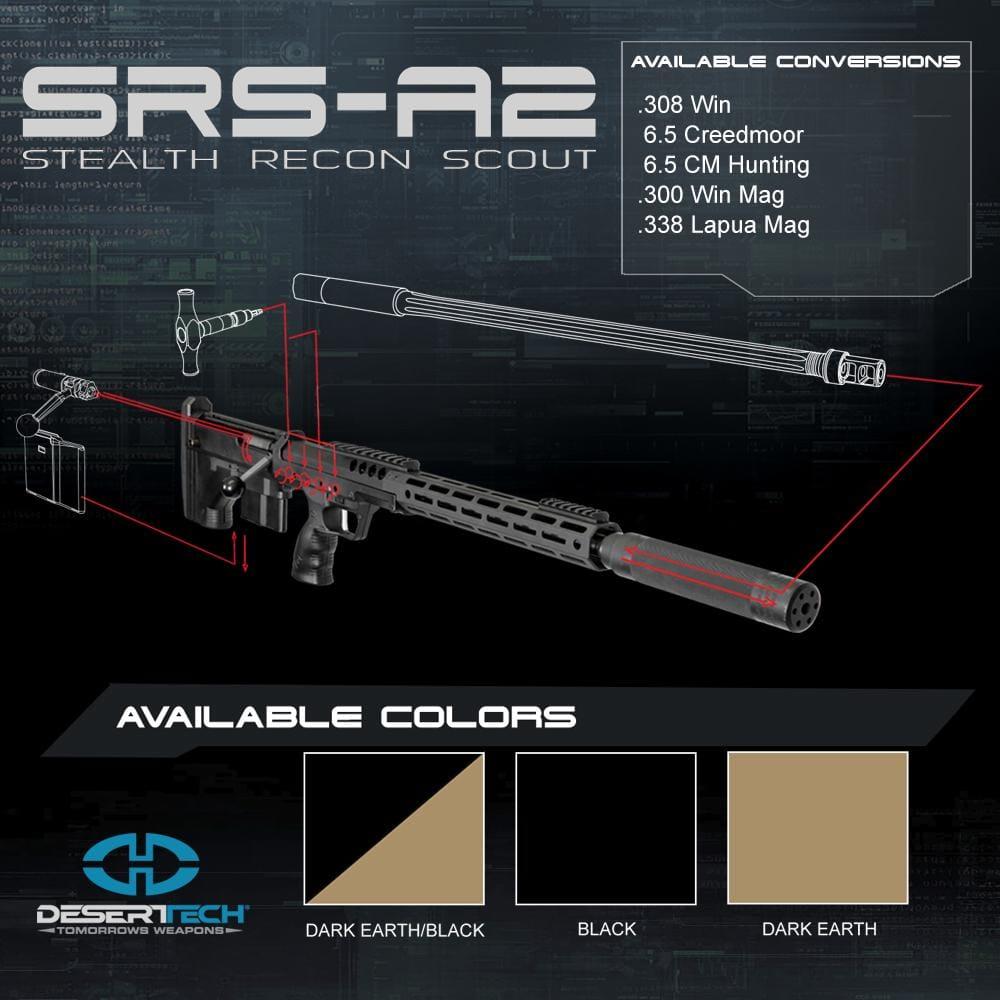 Desert Tech SRS A2 RH Rifle Build Kit