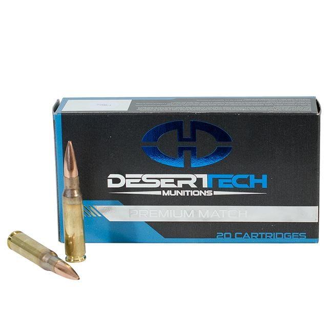 Desert Tech .308 Win 175GR PTS Match Ammunition