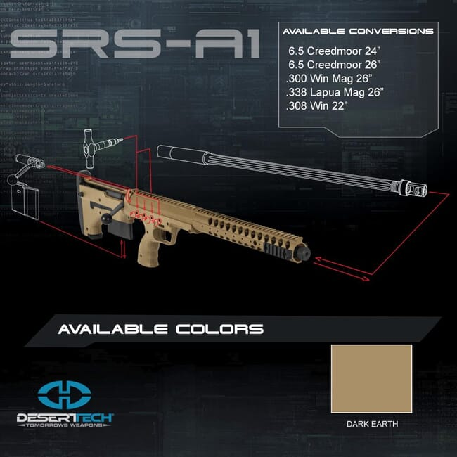 Desert Tech SRS Rifle Build Kit DTA_SRS_Rifle_Kit