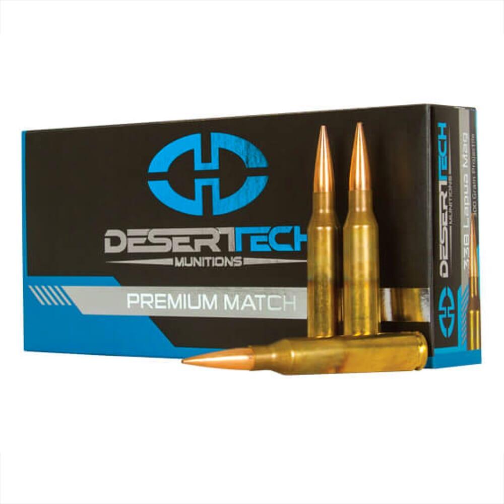 DTM .338 LM 300GR PTS Match Ammunition Case 200 RDS