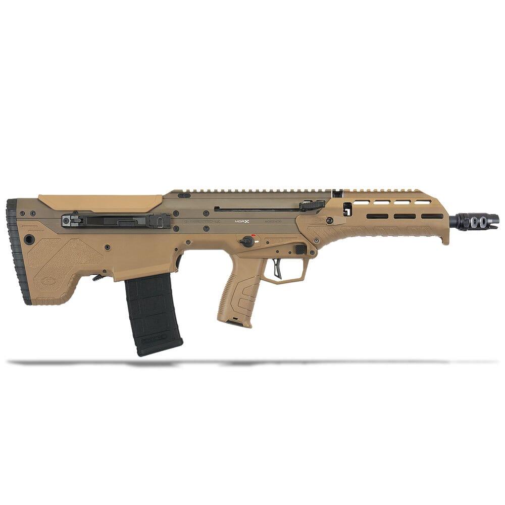 "Desert Tech MDRx Semi FDE 5.56 NATO/.223 Rem 16"" 30RD FE Rifle DT-MDRX-SFF-BAC-FE"