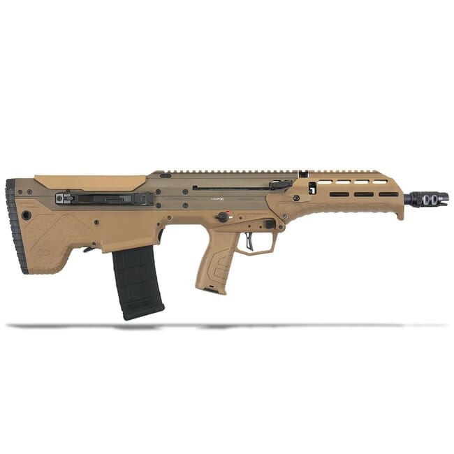 "Desert Tech MDRx Semi FDE 5.56 NATO/.223 Rem 16"" 30RD FE Rifle DT-MDRX-SFF-BAC-FE"
