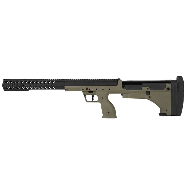 Desert Tech SRS (A1) LH Black with Dark Earth Stock DT-SRS-SBFM00L