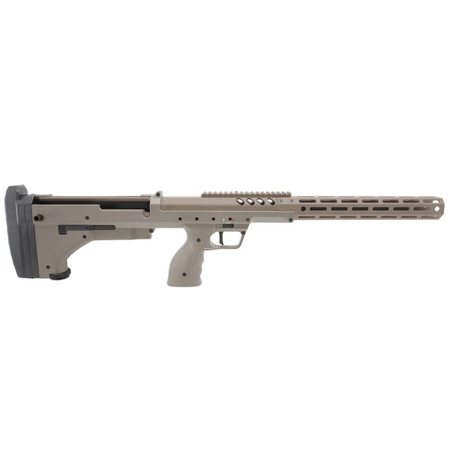 Desert Tech SRSA2 RH FDE/FDE Rifle Chassis w/ Monopod DT-SRSA2-SFFM00R