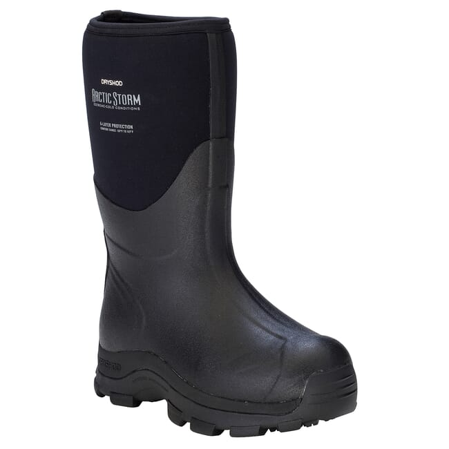 Dryshod Arctic Storm Med Blk/Gry Outdoor Sport Boots ARSMMBKM