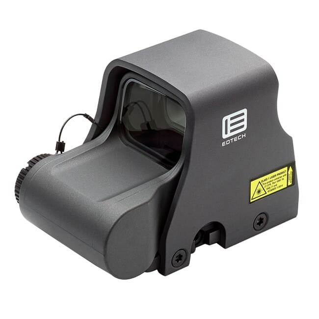 EOTech HOLOgraphic Weapon Sight Grey Color, Single CR123 battery;reticle pattern with 68 MOA ring and 1MOA dot XPS2-0GREY