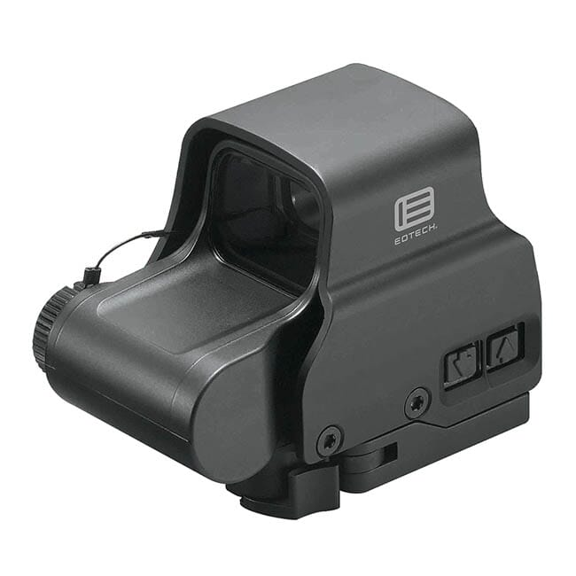 Single CR123 battery;reticle pattern with 65 MOA ring and 1 MOA dot - side buttons-single QD lever P EXPS2-0