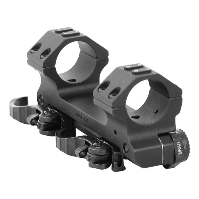 ERA-TAC Adjustable Inclination Mount 30mm/Height 25mm/Levers 0-20 MRAD T1073-0025