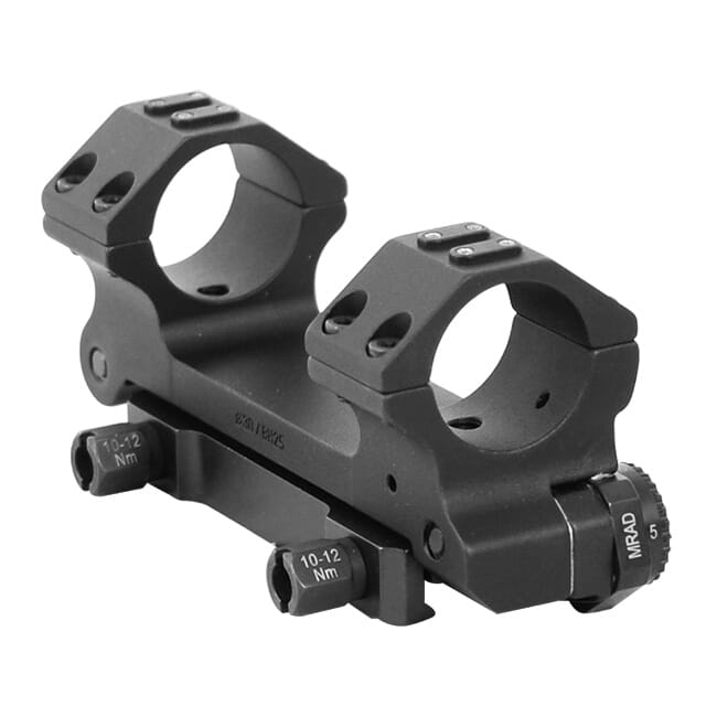 ERA-TAC Adjustable Inclination Mount 30mm/Height 25mm/Nuts 0-20 MRAD T2073-0025