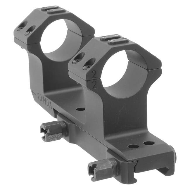 """ERA-TAC Gen 2 One-Piece Cantilever Mount 30mm 20 MOA 49mm-1.93"""" High 50mm-2.000"""" offset T5023-2034"""