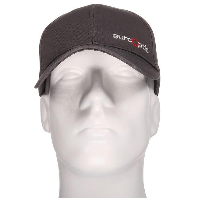 EuroOptic Grey Logo Hat 190207-1