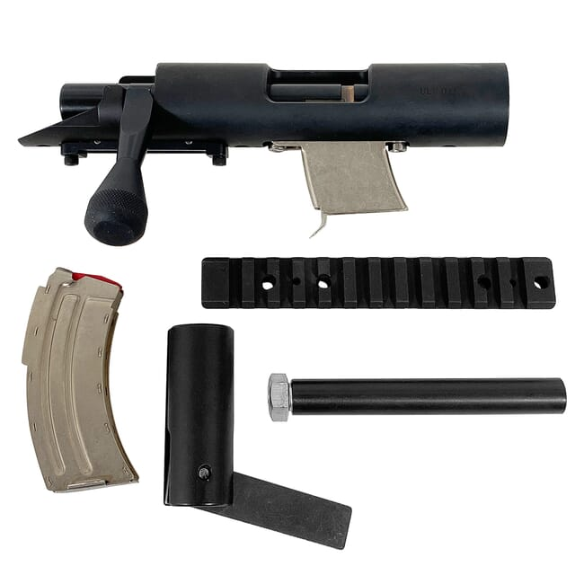Stiller 2500XR Rimfire Repeater Action w/Magazine and Rail 2500XR