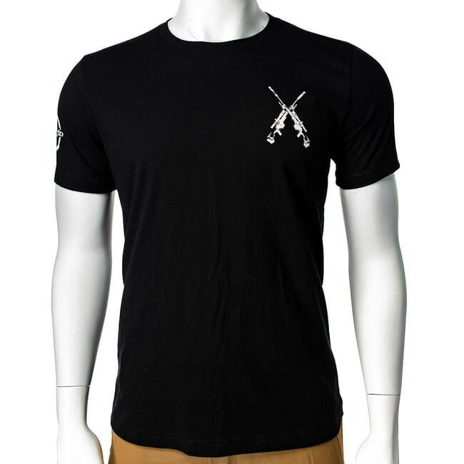 EuroOptic Brand Rifleman's Creed Black SS Tee Small EO-TEE-3001-BLK-CRD-S